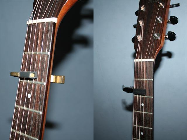 Hur spelar man gitarr med capo